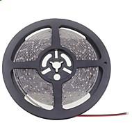 SENCART 5 M 600 3528 SMD Blanco cálido / Blanco A Prueba de Agua / Cortable / Conectable / Adecuadas para Vehículos / Auto-Adhesivas W