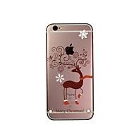 のために iPhone 6ケース / iPhone 6 Plusケース 超薄型 / クリア ケース バックカバー ケース タイル ソフト TPU Apple iPhone 6s Plus/6 Plus / iPhone 6s/6