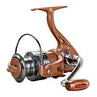 Carretes para pesca spinning 5.5/1 13 Rodamientos de bolas Intercambiable Pesca al spinning / Pesca de Cebo-MS1000-4000 YUMOSHI