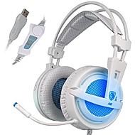 Sades A6 Hodetelefoner (hodebånd)ForMedie Avspiller/Tablett ComputerWithMed mikrofon DJ Lydstyrke Kontroll FM Radio Gaming Sport