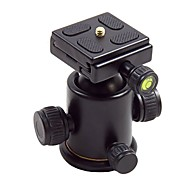 hy-3 tilt support en alliage de balle tête en aluminium avec plaque de dégagement rapide pour appareil photo numérique charge max 5 kg
