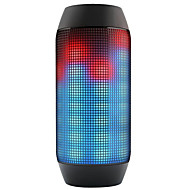 Outdoor Flashing Speaker LED Glow Pulse Lighting Mini  Wireless Bluetooth Super Bass Speakers & Microphone TF AUX USB