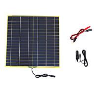 15w 18v hordozható monokristályos napelem autó autó újratölthető elektromos akkumulátortöltő (swb1518c)