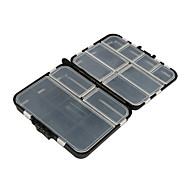 Anmuka 16 Compartments Fishing Box Fishing Lure Box Bait Accessories Good Quality Fashing Tackle Box Case