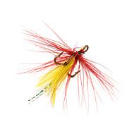 """12 szt Návnady Miękkie Jerkbaity Muchy fantom g/Uncja,20 mm/1"""" cal,Pokryte piórami Stal niestopowaSea Fishing Fly Fishing Casting Bait"""