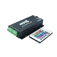 Sound Audio LED RGB IR Music Controller 24key 3 Channel 12A DC12-24V
