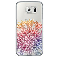 Colorful Lace Printing Pattern Soft Ultra-thin TPU Back Cover For Samsung GalaxyS7 edge/S7/S6 edge/S6 edge plus/S6/S5/S4