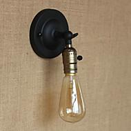 lamppu mukana tuulettimet, maalaismainen / Lodge E27 metal