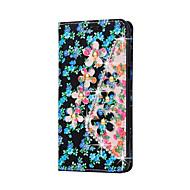 Per Samsung Galaxy Custodia Porta-carte di credito / A portafoglio / Con diamantini / Con supporto / Con chiusura magnetica Custodia
