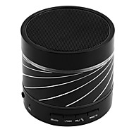 Ortable LED Mini Wireless Bluetooth Speaker Stereo Bass Mic for Smartphone Promotion