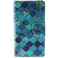 Varten HTC kotelo Lomapkko / Korttikotelo / Tuella / Flip Etui Kokonaan peittävä Etui Geometrinen printti Kova Tekonahka HTCHTC Desire