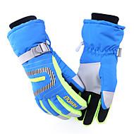 Cycling Gloves / Ski Gloves Winter Gloves Unisex Keep Warm Ski & Snowboard / Snowboarding Green / Red / Blue Canvas S / M / L / XL
