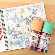 Schilderen Kleurpotloden,Hout Rood / Blauw / Geel / Paars / Oranje / Groen