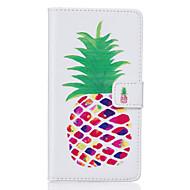 Varten Samsung Galaxy S7 Edge Korttikotelo / Lomapkko / Tuella / Flip / Kuvio Etui Kokonaan peittävä Etui Hedelmä Pehmeä Tekonahka Samsung