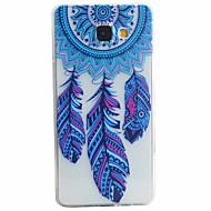 For Samsung Galaxy etui Mønster Etui Bagcover Etui Fjer Blødt TPU for Samsung A5(2016) A3(2016)
