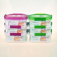 yooyee marka najwyższej jakości tworzywa sztucznego o jakości spożywczej kwadratowy pojemnik wielokrotnego użytku