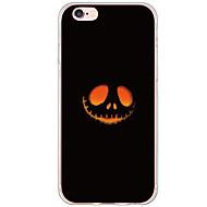 Varten iPhone 6 Plus kotelo Kuvio Etui Takakuori Etui Piirros Kova TPU Apple iPhone 6s Plus/6 Plus / iPhone 6s/6 / iPhone SE/5s/5