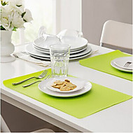Acrylic Rectangulaire Placemats