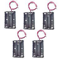 5db 3 aaa elemtartó 4,5V AAA elem doboz piros és fekete vezetéket