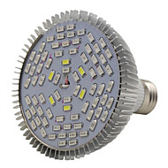 E27 78LED 42red18blue6white6ir6uv espectro completo llevado crece la bombilla (ac85-265v)