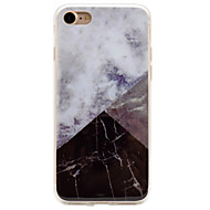 For iPhone 7 etui iPhone 6 etui iPhone 5 etui IMD Etui Bagcover Etui Marmor Blødt TPU for AppleiPhone 7 Plus iPhone 7 iPhone 6s Plus/6