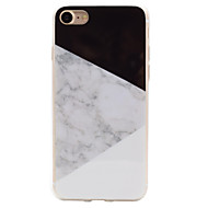 Splice Marble Pattern IMD Crafts TPU Material Soft Phone Case for iPhone 7 7plus 6s 6 Plus SE 5s 5