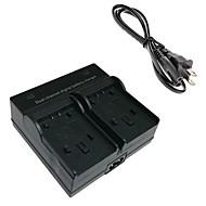 vbk180 digitalkamera batteri dual lader for panasonic vbk180 vbk360 vbt190 vby100 hc-V110 V210 V520 V720 gk