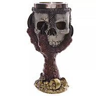 1PC Halloween Party Gift Barware 3 D Claws Skull Goblet Personality Cup Glassware  Random Color