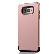 For Samsung Galaxy A7(2016) A9 Shockproof Case Back Cover Case Solid Color Hard PC  A5(2016) A3(2016) A7 A5