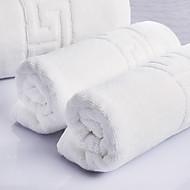 목욕 타올 세트 화이트,자카드 고품질 100% 면 수건
