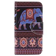 Voor Samsung Galaxy J3 (2016) j3 zoals bruin geschilderde kaarthouder portefeuille pu lederen telefoon hoesje