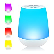 Igingko Bluetooth Speaker with LED Smart Table Lamp for Home Party Wedding White