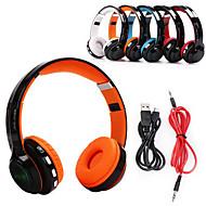 JKR 208B ヘッドホン(ヘッドバンド型)Forメディアプレーヤー/タブレット / 携帯電話 / コンピュータWithマイク付き / ボリュームコントロール / FMラジオ / ゲーム / スポーツ / ノイズキャンセ / Bluetooth