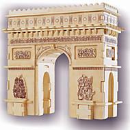 Arc DE Triomphe Puzzles Wooden Puzzles Building Blocks DIY Toys Famous buildings 1 Wood Ivory Puzzle Toy