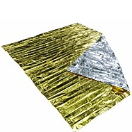 Outdoor Waterproof Emergency Survival Rescue Space Foil Thermal First Aid Blanket Tent