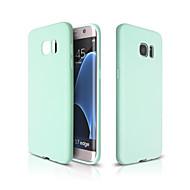 Για Samsung Galaxy Θήκη Εξαιρετικά λεπτή tok Πίσω Κάλυμμα tok Μονόχρωμη Μαλακή TPU Samsung S7 edge / S7 / S6 edge plus / S6 edge / S6