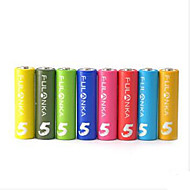 franke 8 tank no. 5 AA Ni MH oppladbart batteri intelligent batteri KTV rainbow 8 batterier installert