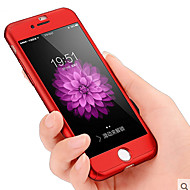 Na iPhone 8 iPhone 8 Plus iPhone 7 iPhone 7 Plus Etui Pokrowce Odporne na kurz Odporne na wstrząsy Futerał Kılıf Solid Color Twarde PC na