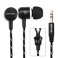 Awei Q35 3.5MM Jack In Ear Earphone Super Bass earphone Music Earphones For IPhone/Samsung/MP3