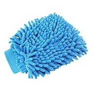 ziqiao lavable paño de lavado de coches herramienta de guantes de limpieza lavador de carros mitón estupendo de limpieza de microfibra