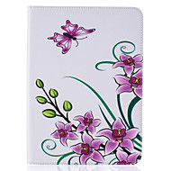 For Samsung Galaxy Tab T815 T715 Case PU Leather Material Butterflies Embossed Pattern Plate Sets T580 T560 T550 T377 T280 T350