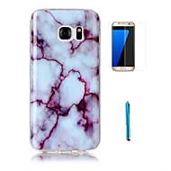 Για Με σχέδια tok Πίσω Κάλυμμα tok Μάρμαρο Μαλακή TPU Samsung S7 edge / S7 / S6 edge / S6 / S5 / S4