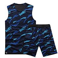 sport Hættetrøje uden ærmer fritid sport / badminton / basketball / kører tøj sæt / dragter baggy shorts åndbar / hurtige dryxs / l /