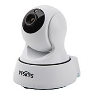 veskys®のT4 720pの1.0mpのWi-FiのセキュリティIPカメラ(当日の夜/動き検出/リモートアクセス/ IRカット/プラグアンドプレイ)