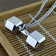 Heren Hangertjes ketting Titanium Staal Hangende stijl USA Zilver Sieraden Feest Dagelijks Causaal 1 stuks