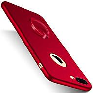 Käyttötarkoitus iPhone 7 kotelo iPhone 7 Plus kotelo iPhone 6 kotelo kotelot kuoret Tuella Sormuksen pidike Himmeä Takakuori Etui