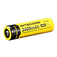NiteCore nl186 2600mah 3.7v 9.6wh batería recargable Li-ion 18650
