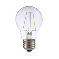 2W E26 フィラメントタイプLED電球 A17 2 COB 200 lm 温白色 明るさ調整 AC 110-130 V 1個