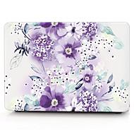caja de la computadora MacBook flor de glicina para el macbook air11 13 PRO13 / / 15 / Pro con retina13 15 macbook12