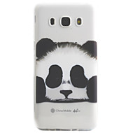 Για το galaxy samsung j5 j3 (2016) περίπτωση κάλυψης panda μοτίβο υψηλής διαπερατότητας ζωγραφική tpu υπόθεση τηλέφωνο